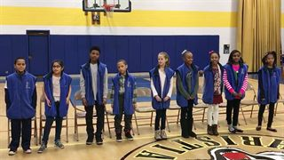 Calvin Christian School Fifth-grade Peacemakers