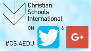 Christian Schools International on Twitter and Google+