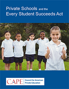 Private Schools and the Every Student Succeeds Act PDF cover