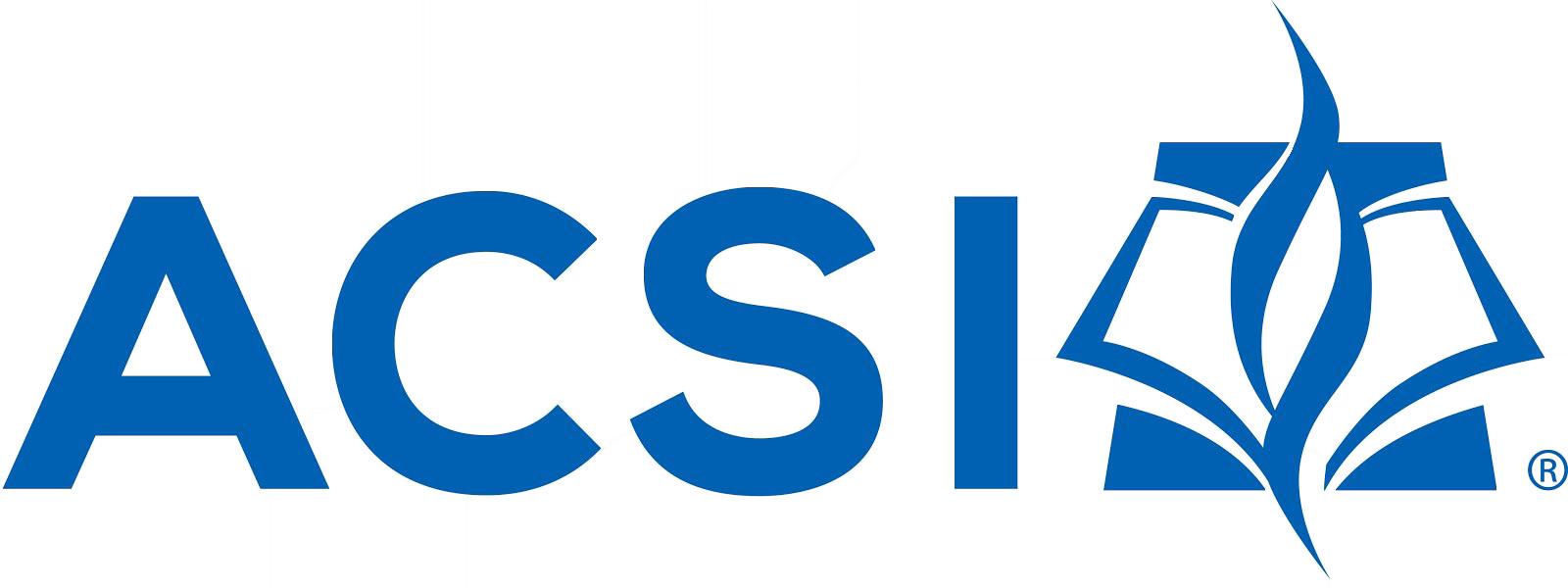 Association of Christian Schools International logo