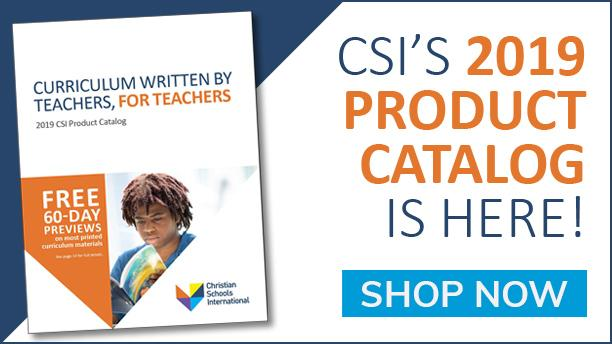 CSI 2019 Product Catalog ad