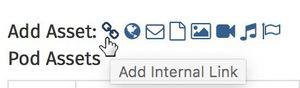 Add internal pod link